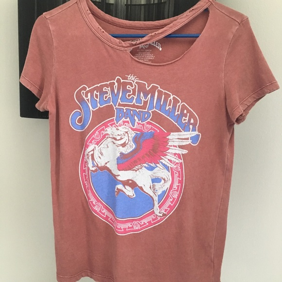 dd0008f3f Urban Outfitters Tops | Steve Miller Band Distressed Shirt | Poshmark